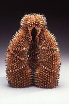Необычное искусство: скульптуры из карандашей (ФОТО)