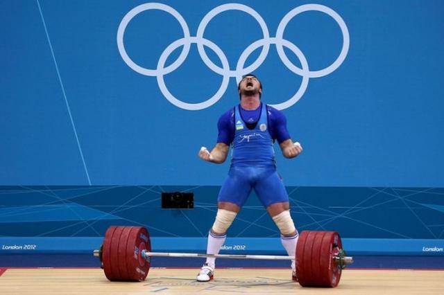 Лучший штангист на олимпиаде в Лондоне 2012