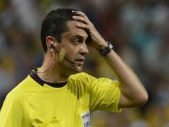 Судья матча Англия-Украина признал свою ошибку