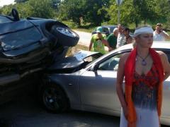 Волочкова попала в ДТП: в авто балерины врезался джип