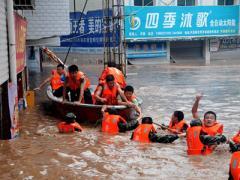 Наводнение в Китае: десятки погибших, миллионы пострадавших