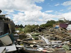 По северу Польши прошли несколько мощных торнадо (ФОТО)