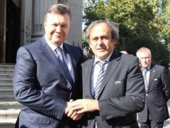 Янукович мечтает о чемпионате мира по футболу в Украине