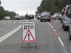В Горловке Жигули с БМВ не поделили дорогу