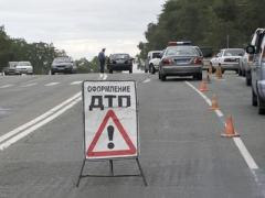 В Мариуполе Audi столкнулся с Daewoo - есть пострадавшие