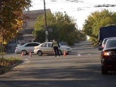 В Красноармейске две иномарки не поделили дорогу (ФОТО)