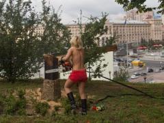 Femen допросили в Киеве