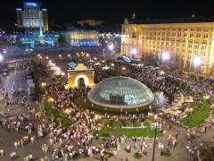 В день выборов на Майдане пройдут выставка военной техники и концерт