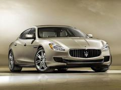 Появились первые фотографии нового Maserati Quattroporte (ФОТО)