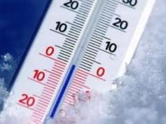 Сегодня стоит одеться потеплее: температура ниже нуля