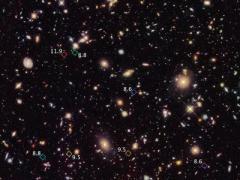 """Космические """"археологи"""" раскопали древние галактики"""
