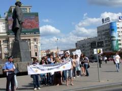 В Донецке прошла акция за безопасность дорожного движения (ФОТО)