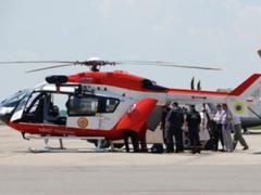 Для спасения жительницы Ивано-Франковска понадобился вертолет (ВИДЕО)