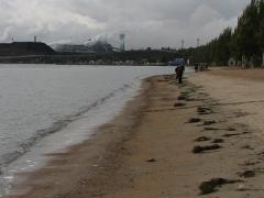 Мужчина, найденный на мариупольском пляже с простреленной головой, оказался самоубийцей