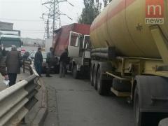 В Мариуполе в аварию попало сразу 7 автомобилей