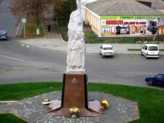 К трём датам установили памятник четырём гетманам