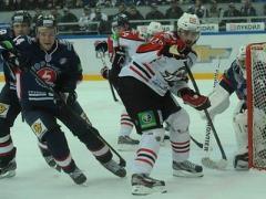 Донецкие хоккеисты «по-футбольному» сыграли в Нижнем Новгороде