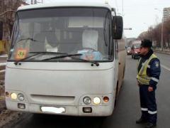 Зима ударила по донецкому транспорту