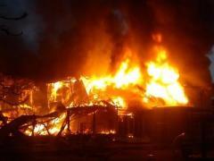 Одесса в огне: как вспыхнул рынок и кто его тушил (3 ВИДЕО)