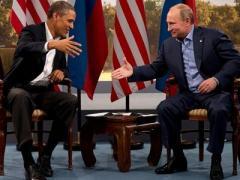 """""""Ржавый"""" Путин отобрал лидерство у """"хромой утки"""" Обамы"""