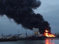 Пожарные забастовали - и Лондон оказался в огне (ВИДЕО)