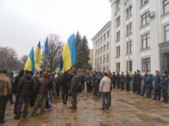 Луганский суд запретил евромайдан, чтобы избежать столкновений
