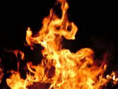 На пожарах спасли двоих людей с разницей в 70 лет