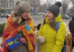 Донецкий евромайдан уезжает в Киев