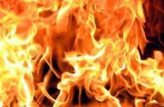 Мужчина сгорел под самой крышей