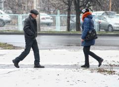 В Донецке выпал снег. А скоро будет и мороз! (ФОТО)