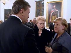 """Янукович в Вильнюсе: """"Я три с половиной года один на один с Россией"""" (ВИДЕО)"""