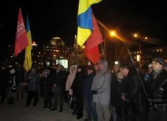 Из Донецка на киевский Евромайдан увезли флаги