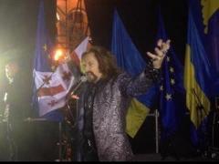 """Джигурда """"зажёг"""" Майдан своим новым творением (ВИДЕО)"""