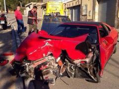 На съёмках клипа Валерии разбился каскадёр на Ferrari