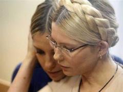 По просьбе митингующих Тимошенко стала есть