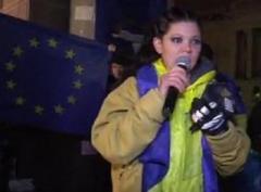 Руслана передумала сжигать себя на Майдане