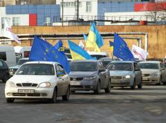 Дончане ответили сторонникам евроинтеграции неприличными жестами (ФОТО + ВИДЕО)