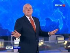 Путин поощрил одиозного Киселёва (ВИДЕО)