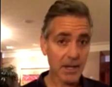 Джордж Клуни выразил Евромайдану своё восхищение (ВИДЕО)