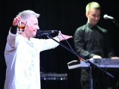 Рок-музыкант и её избранник привезли свою любовь в Донецк (ФОТО)