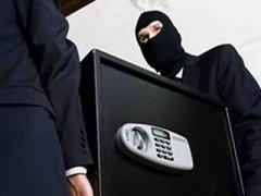 Грабители вынесли сейф из «Приватбанка» и остались с пустыми руками