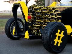 Автомобиль из детского конструктора разогнали до 32 километров в час (ВИДЕО)