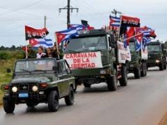 """Куба отмечает юбилей коммунизма и отправляет дорогами памяти """"Караван свободы"""" (ВИДЕО)"""