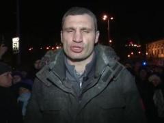 """Виталий Кличко - Виктору Януковичу: """"Не повторяйте путь Чаушеску и Каддафи!"""" (ВИДЕО)"""