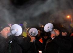 В Донецке протестующих прогнали с Евромайдана (ФОТО + ВИДЕО)