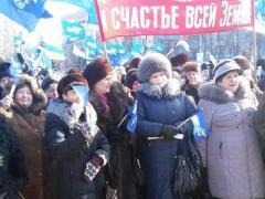 Как сегодня проходили митинги в городах Донецкой области (ФОТО)
