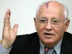 Михаил Горбачёв заявил, что в Украине - вандализм, а не протест