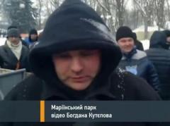 Выключи камеру: журналист пострадал от участников Антимайдана (ВИДЕО)