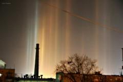 Невероятное природное явление: северное сияние в небе Донбасса (ФОТО)