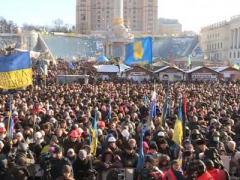 Информационый митинг: на Майдане - что-то новенькое (ВИДЕО)